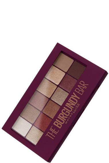 The Burgundy Bar Lidschatten Palette