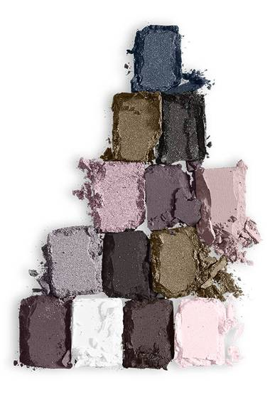 The Rock Nudes Lidschatten Palette