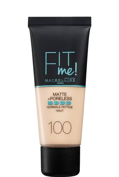 MAQUILLAGE MATTE + PORELESS FIT ME!